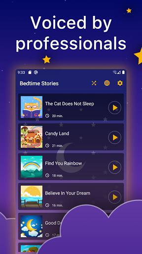 Bedtime Audio Stories Kids. Calm Sleep Story Book 1.5.2 Screenshots 3