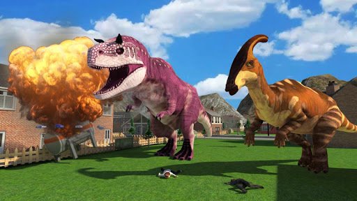 Dinosaur Simulator Games 2021 - Dino Sim 2.6 screenshots 13