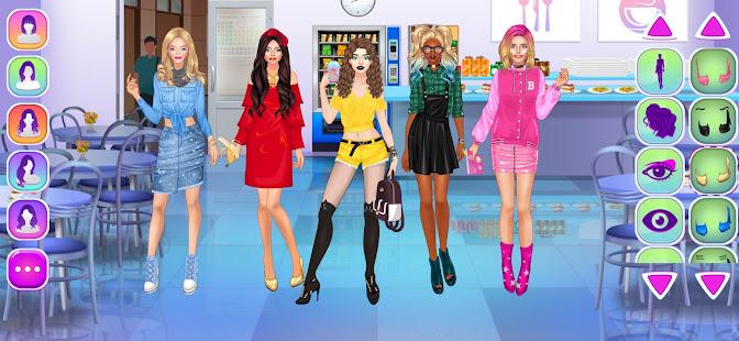 女子高生ファッションゲーム
