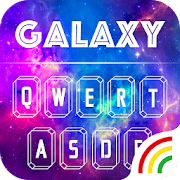 Color Keyboard Galaxy Theme