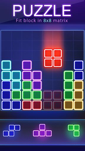 Glow Block Puzzle apktram screenshots 8