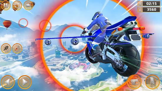 Mega Ramp Impossible Tracks Stunt Bike Rider Games 3.4.2 Screenshots 13