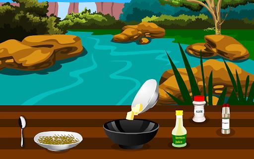 grilled fish cooking games screenshot 2