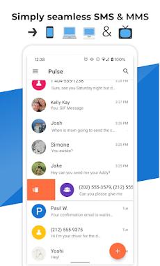 Pulse SMS (Phone/Tablet/Web)のおすすめ画像1