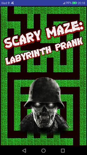 scary maze: labyrinth prank screenshot 1