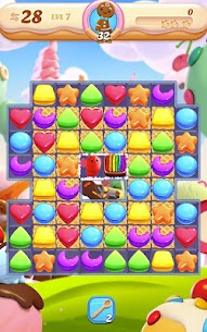 Cookie Jam Blast Mod Apk New Match 3 (Unlimited Lives) 6