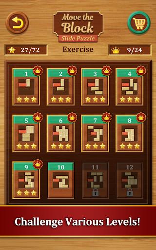 Move the Block : Slide Puzzle  screenshots 9