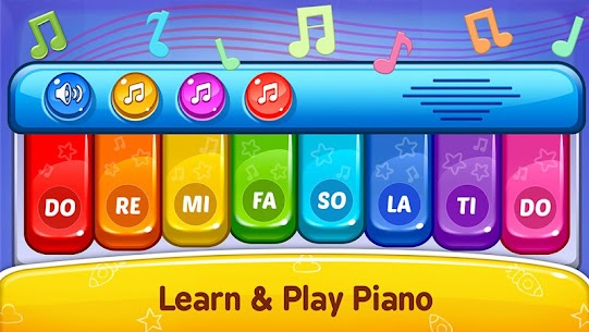 Baby Games Piano Baby Phone First Words Apk Download 2