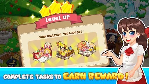 Code Triche jeu de restaurant - jeu de café restaurant magnat (Astuce) APK MOD screenshots 2