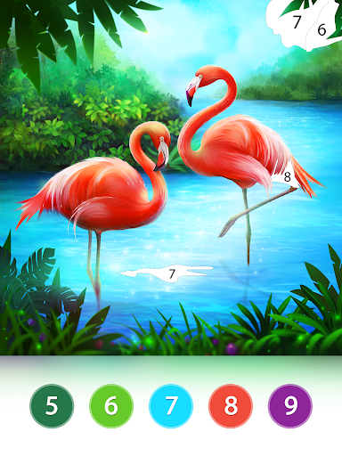 Coloring Fun : Color by Number Games 3.2.0 screenshots 14