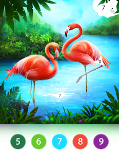 Coloring Fun : Color by Number Games screenshots 22