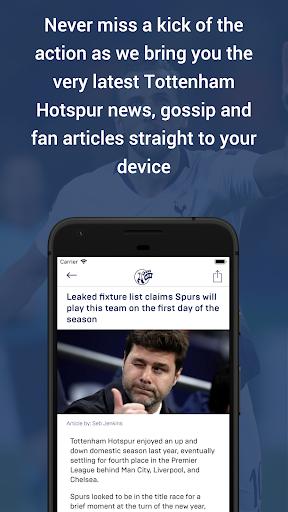 spurs web screenshot 2