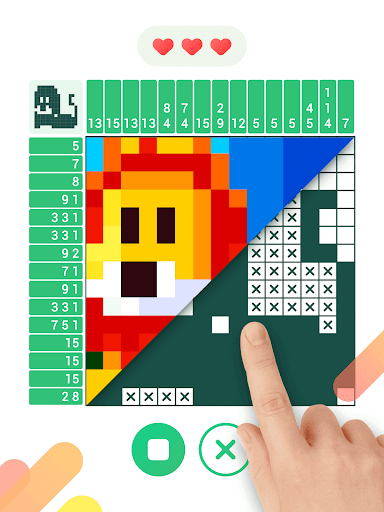 Logic Pixel - Picture puzzle 1.0.6 screenshots 8