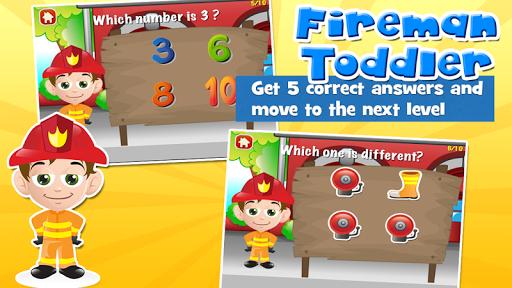 Fireman Toddler School Free 3.20 screenshots 3