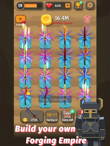 Merge Sword - Idle Blacksmith Master 1.4.4 screenshots 9