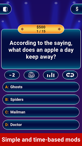 Millionaire 2021 -  Free Trivia Quiz Offline Game  screenshots 10