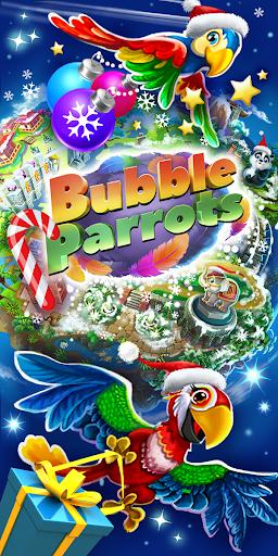 bubble parrots: bubble shooter screenshot 1
