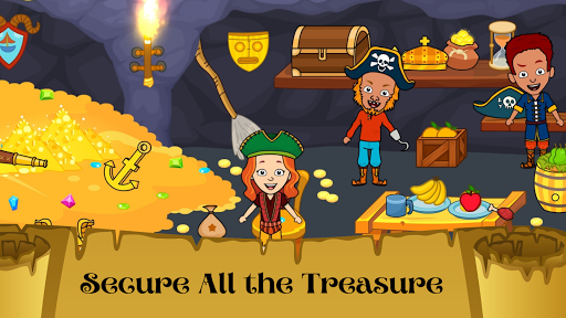 My Pirate Town - Sea Treasure Island Quest Games 1.4 Screenshots 3
