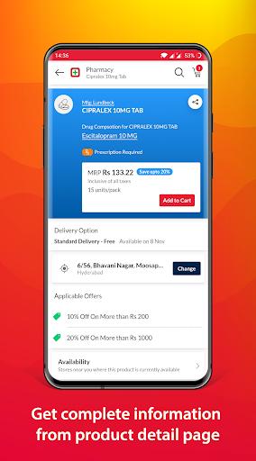 MedPlus Mart - Online Pharmacy apktram screenshots 4