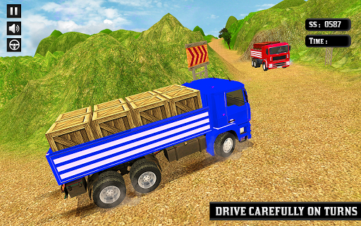 Indian Truck Mountain Drive 3D screenshots 2
