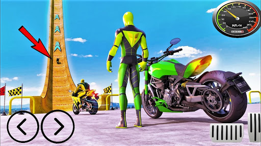 Mega Ramp Motorbike Impossible Stunts screenshots 8