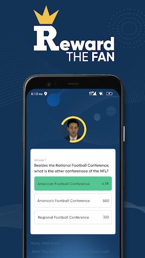 Reward The Fan Trivia screenshots 4