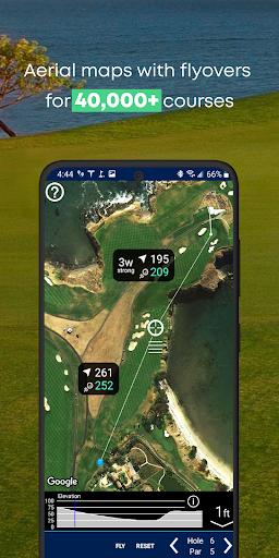 Golf GPS Rangefinder: Golf Pad android2mod screenshots 2