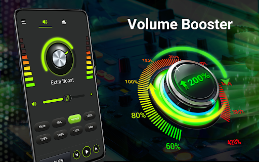Volume booster - Sound Booster & Music Equalizer android2mod screenshots 18