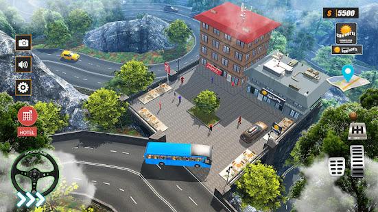Tourist Coach Bus Highway Driving 1.1.3 screenshots 1