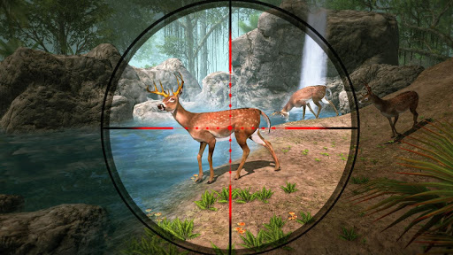 Deer Hunting Games 2020 - Forest Animal Shooting apktreat screenshots 1