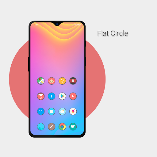 Download APK: Flat Circle – Icon Pack v6.5 [Patched]
