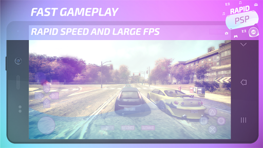 Rapid PSP Emulator for PSP Games 4.0 Screenshots 9