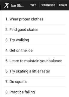 Ice Skating Tipsのおすすめ画像1