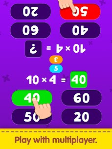 Free Multiplication Table Learning – Kids Math Learning 3