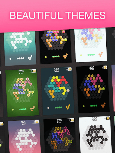 Hex FRVR - Drag the Block in the Hexagonal Puzzle screenshots 13