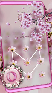 Pink Cherry Blossom Launcher Theme