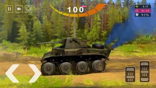 Army Tank Simulator 2020 - Offroad Tank Game 2020  screenshots 7