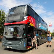 Modern Heavy Bus Coach: Public Transport Free Game