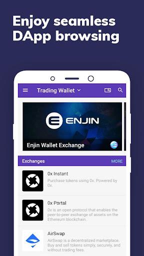 Enjin: Bitcoin, Ethereum, Blockchain Crypto Wallet 1.11.1-r Screenshots 8