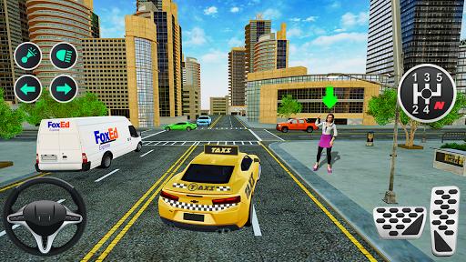 Grand Taxi Simulator : Modern Taxi Games 2020  screenshots 1