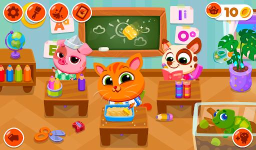 Bubbu School u2013 My Cute Animals apkpoly screenshots 13