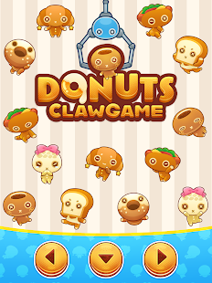 Donuts claw game