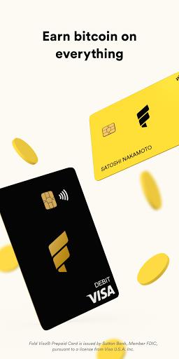 Fold - Bitcoin Cashback Rewards  Screenshots 1