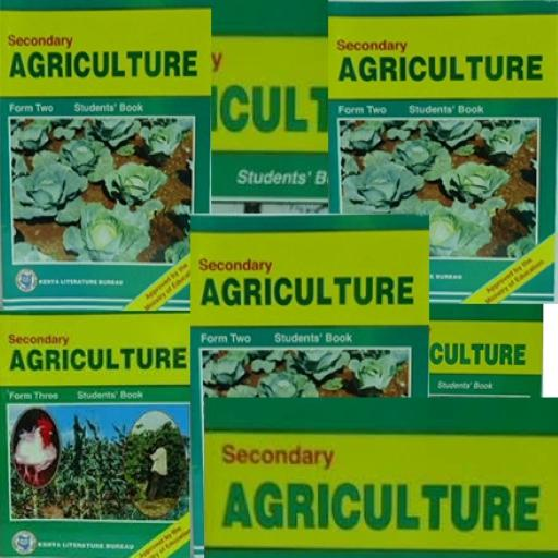 Agriculture Form 1-4 notes +  KCSE Past Papers