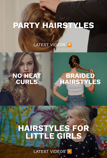 Hairstyles for your face : Free Hair salon 3.0.153 Screenshots 2