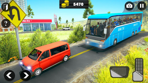 Offroad Bus Driving Simulator 2019: Mountain Bus apktram screenshots 12