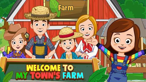 My Town : Farm Life Animals Game  for Kids Free modiapk screenshots 1