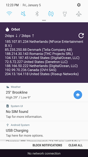Orbot: Tor for Android 16.4.0-RC-2a-tor-0.4.4.6 screenshots {n} 7