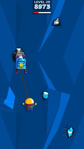 moe&joe - rope and swing game screenshot 1
