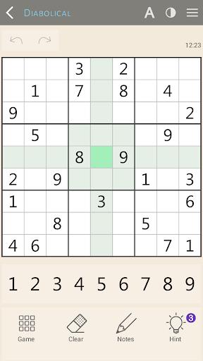 Sudoku classic 1.1.8 screenshots 2